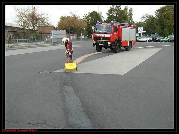 abstumpfung asphalt parkplatz